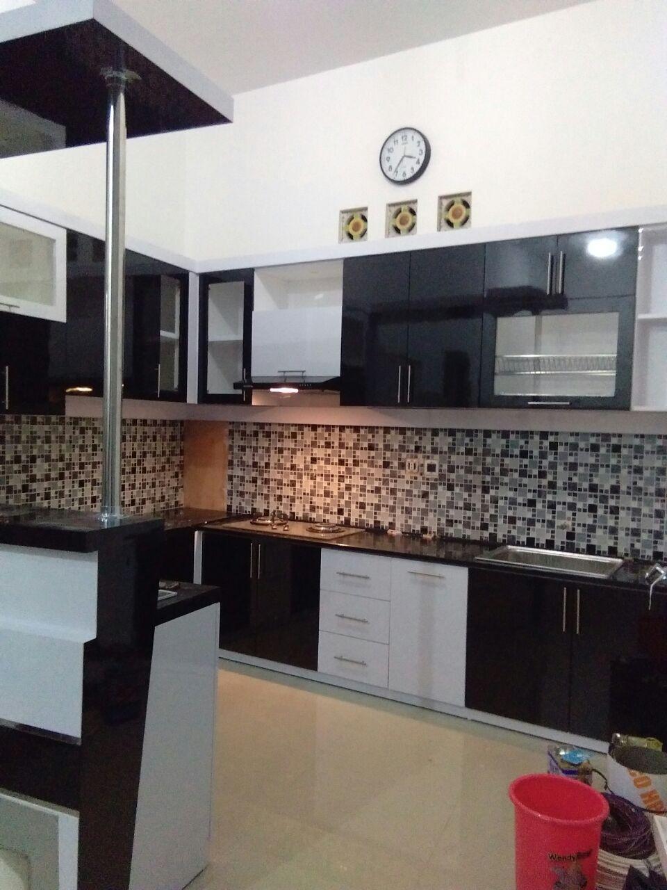 Dokumentasi nazala interior kitchen set lampung